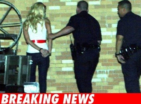 Paris Hilton Arrested For Drug Possession