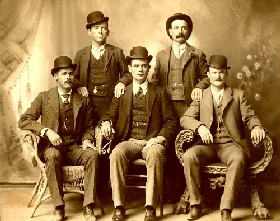 Butch Cassidy and his Hole In The Wall gang