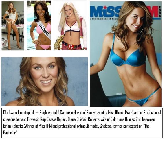 Big Pharma hires beauty queens as sales reps
