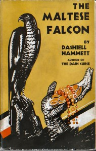 Cover of The Maltese Falcon by Dashiell Hammett (1930)
