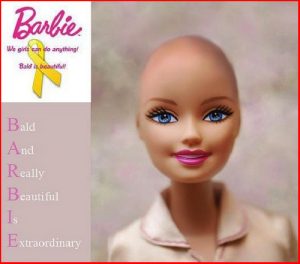 Mattel's Bald Barbie doll