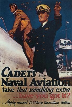 Thank Veterans WWII Poster Aviators